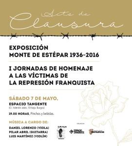 Acto de clausura de la exposición Monte de Estépar 1936-2016