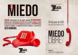 """Teatro: """"El Miedo es Libre?"""""""