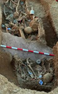 Concluyen los trabajos de exhumación en la fosa común de La Paredeja