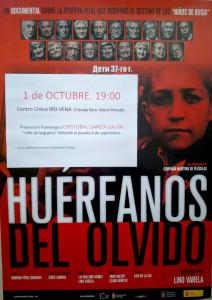 "Documental ""Huérfanos del olvido"""