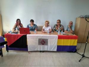 Homenaje a los combatientes exhumados en la fosa de Quintanilla de Rucandio