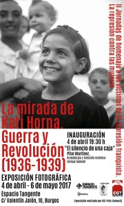 Inauguración de la Exposición: La mirada de Kati Horna. Guerra y revolución (1936-1939)