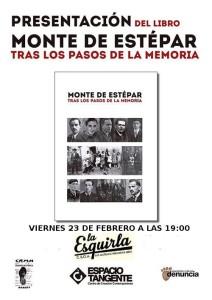 """Presentación del libro """"Monte de Estépar"""" en Miranda de Ebro"""