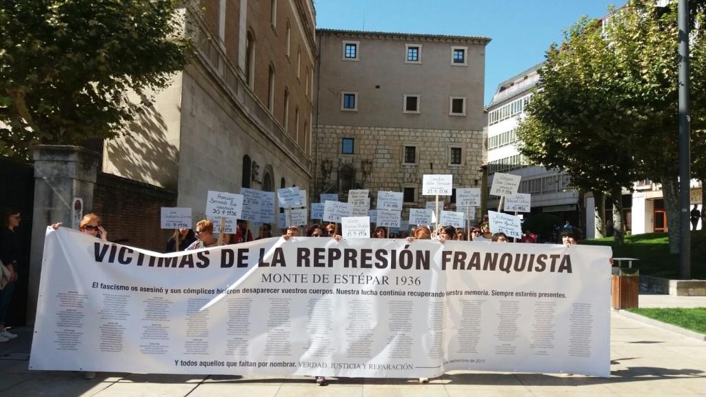Recorrido homenaje a las víctimas de la represión franquista