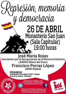 Represión, memoria y democracia