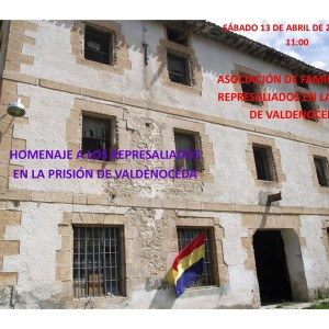 Homenaje a los represaliados en la prisión de Valdenoceda
